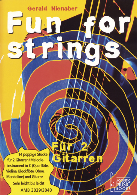 Nienaber, Gerald - Fun for strings. Mit Melodiestimme in C. Mit Begleit-CD