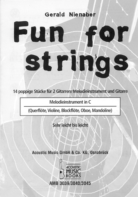 Nienaber, Gerald - Melodiestimme in C  zur Ausgabe Fun for strings