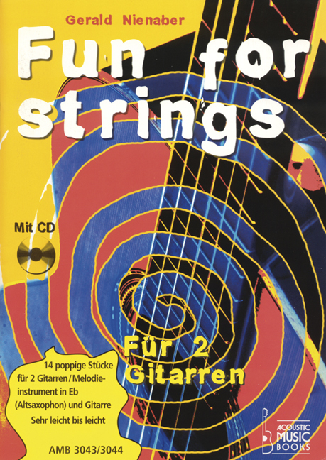 Nienaber, Gerald - Fun for strings. Mit Melodiestimme in Es. Ohne CD