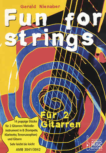 Nienaber, Gerald - Fun for strings. Mit Melodiestimme in B. Ohne CD