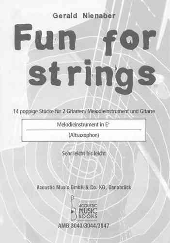 Nienaber, Gerald - Melodiestimme in Es zur Ausgabe Fun for strings