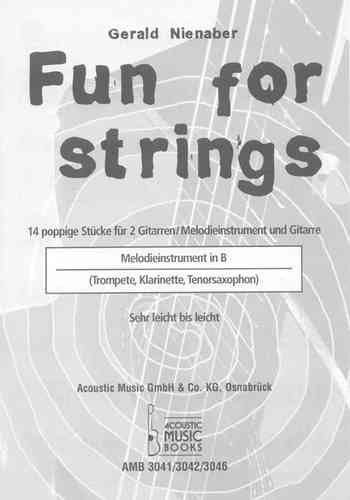 Nienaber, Gerald - Melodiestimme in B  zur Ausgabe Fun for strings
