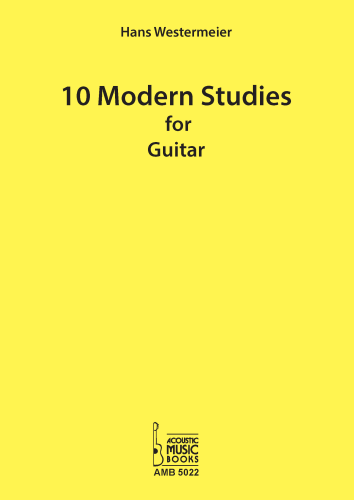 Westermeier, Hans - 10 Modern Studies for Guitar