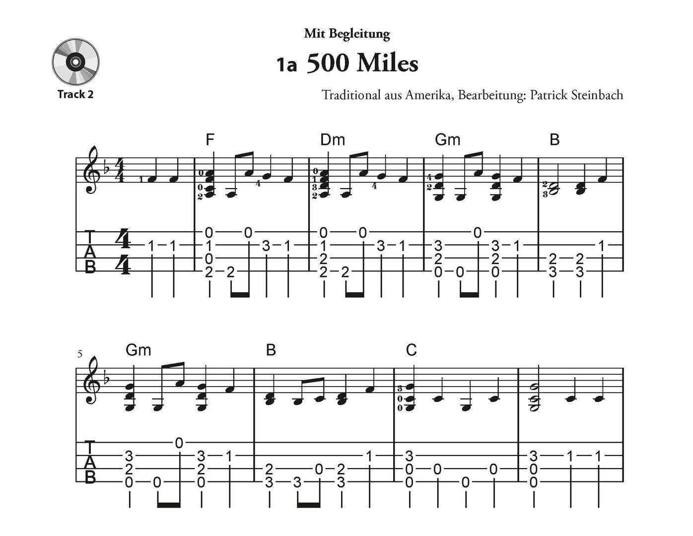 Patrick Steinbach Ukulele Melody Chord Concept Beliebte Melodien Diagram Solo U M Begleitung