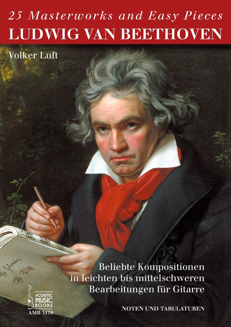 Beethoven,Ludwig van: 25 Masterworks and Easy Pieces. Beliebte Kompositionen in leichten bis